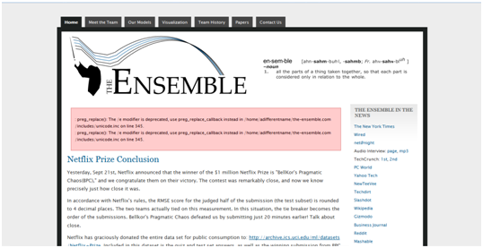 the emsemble